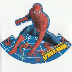 SPIDERMAN SET 6 COIFURI PARTY